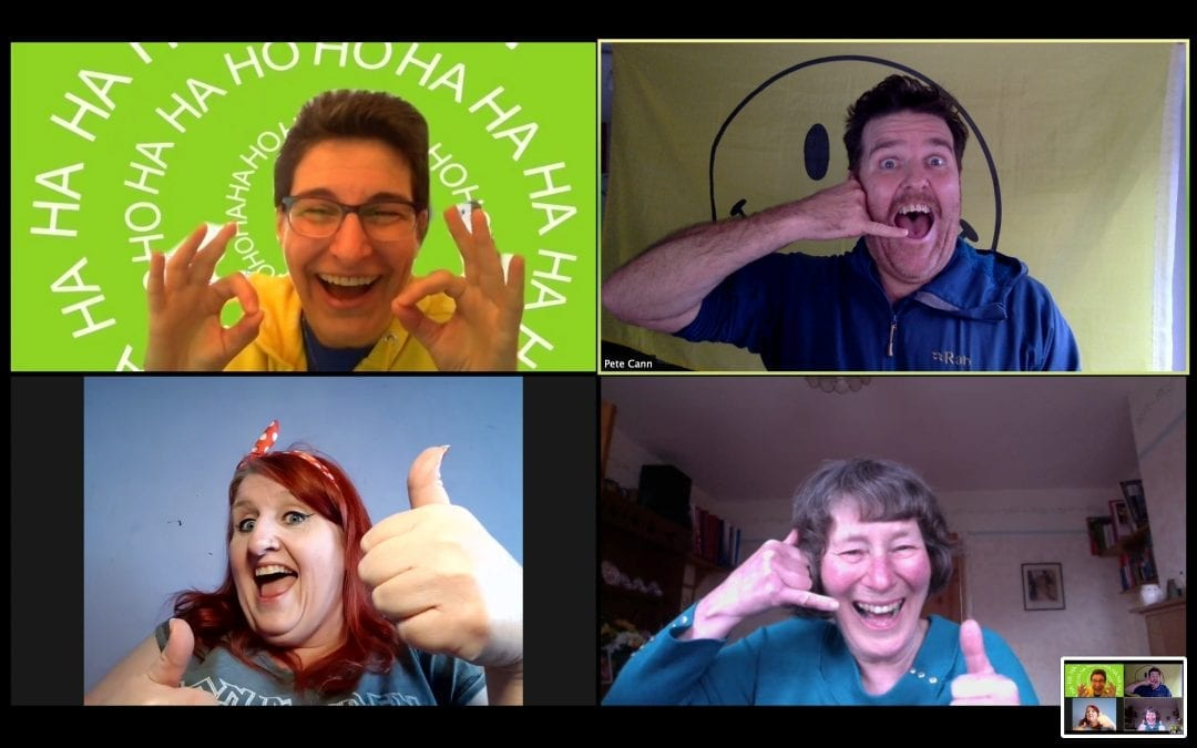 The Daily Giggle Channel… any place, anywhere, virtual laughter….